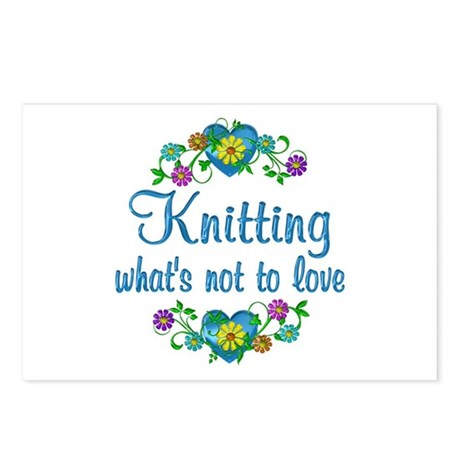 Knitting to Love Postcards (Package of 8)