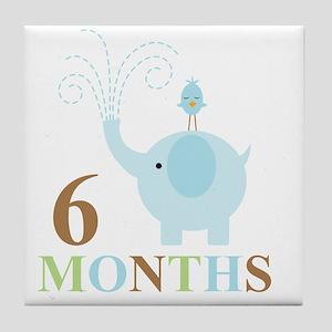 6 months Tile Coaster