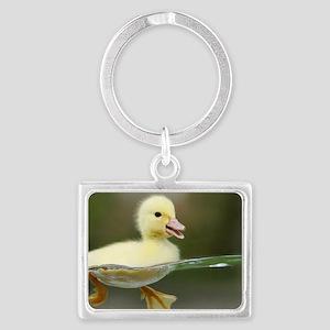 Duckling Landscape Keychain