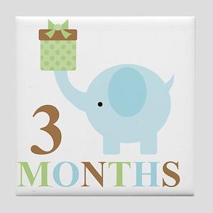 3 months Tile Coaster