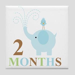 2 months Tile Coaster