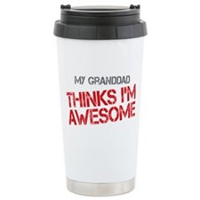 Granddad Awesome Stainless Steel Travel Mug