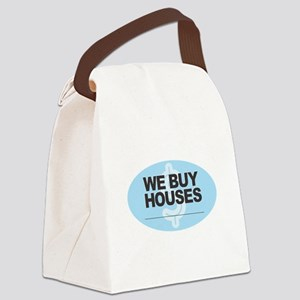 We Buy Houses Canvas Lunch Bag
