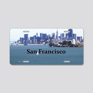 SanFrancisco_12.2x6.64_Alca Aluminum License Plate