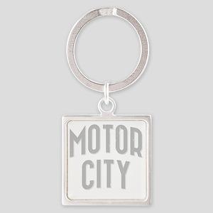 Motor City dark 2800 x 2800 copy Square Keychain