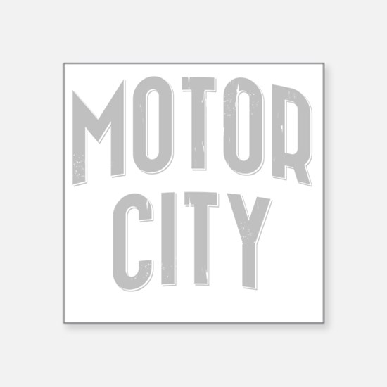 "Motor City dark 2800 x 2800 Square Sticker 3"" x 3"""