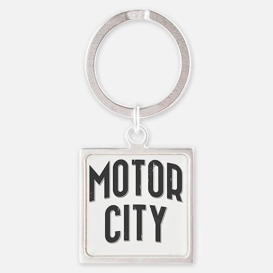 Motor City 2800 x 2800 copy Square Keychain