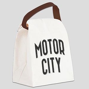 Motor City 2800 x 2800 copy Canvas Lunch Bag