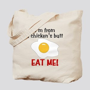 Chicken's Butt Tote Bag