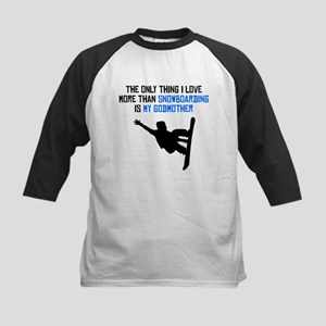 Snowboarding Godmother Baseball Jersey