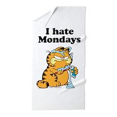 I Hate Mondays Beach Towel