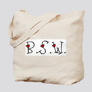 BSW Hearts Tote Bag