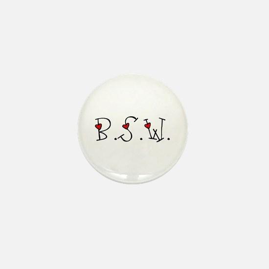 BSW Hearts Mini Button