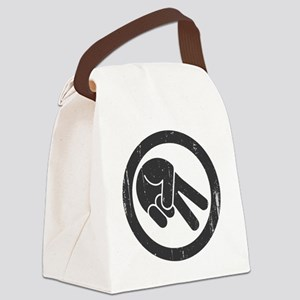 peace-biker-LTT Canvas Lunch Bag