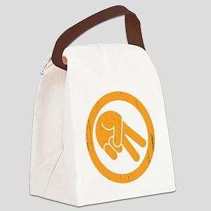 peace-biker-DKT Canvas Lunch Bag
