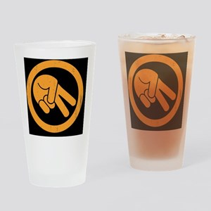 peace-biker-BUT Drinking Glass