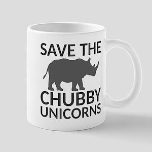 Save the Chubby Unicorns 11 oz Ceramic Mug