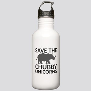 Save the Chubby Unicor Stainless Water Bottle 1.0L
