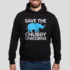 Save the Chubby Unicorns Hoodie (dark)