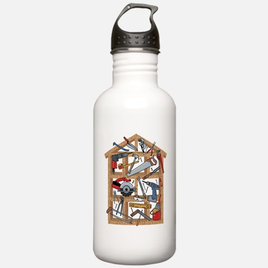 Home Construction Water Bottle