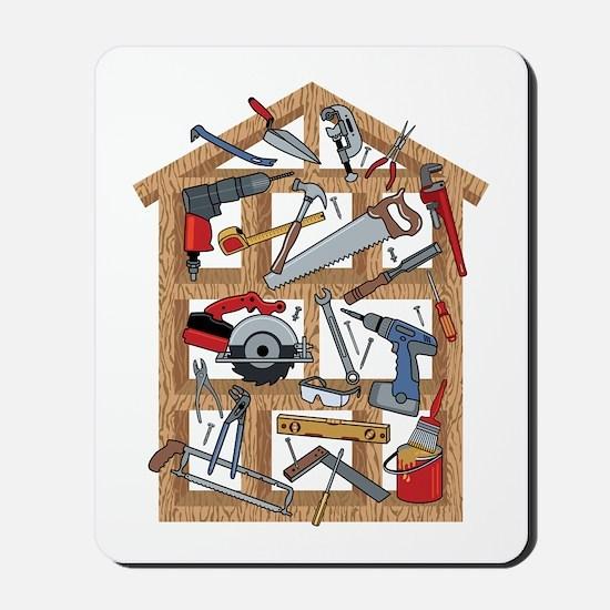 Home Construction Mousepad