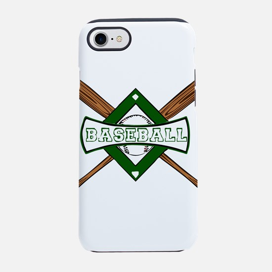 BASEBALL BAT CROSS -1- iPhone 7 Tough Case