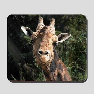 Helaine's Smiling Giraffe Mousepad