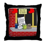 Scout Food for Santa Throw Pillow