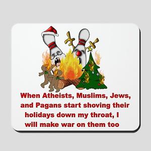 War On Christmas Statement Mousepad