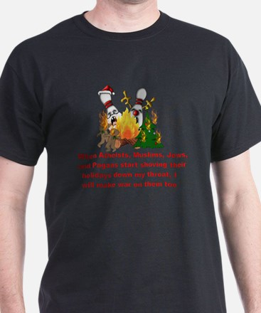 War On Christmas Statement T-Shirt