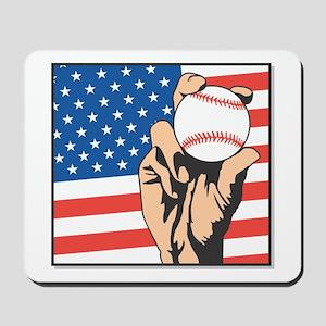 USA BASEBALL Mousepad