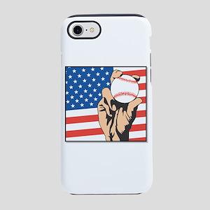 USA BASEBALL iPhone 7 Tough Case