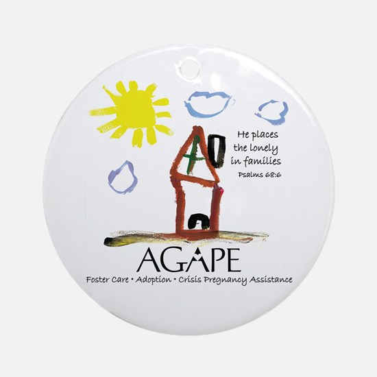 Agape For Families Collection Ornament (Round)