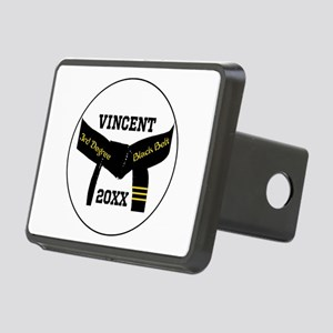 Martial Arts 3Rd Degree Black Belt Hitch Cover