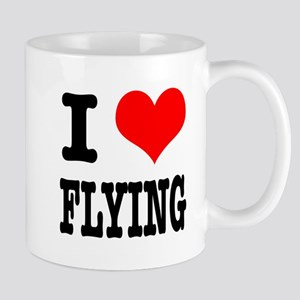 I Heart (Love) Flying Mug