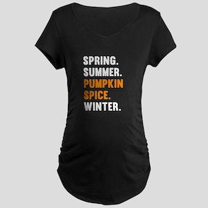 Pumpkin Spice Maternity T-Shirt