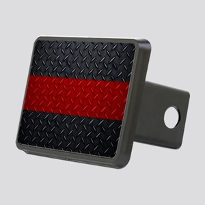 Fire And Rescue Rectangular Hitch Cover
