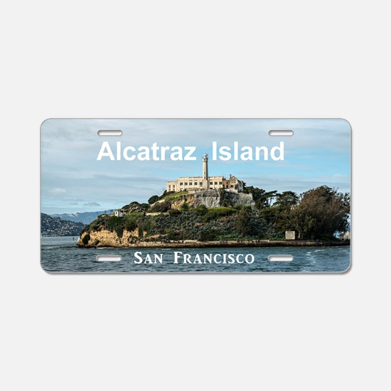 SanFrancisco_18.8x12.6_Alca Aluminum License Plate
