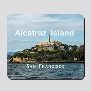 SanFrancisco_18.8x12.6_AlcatrazIsland Mousepad