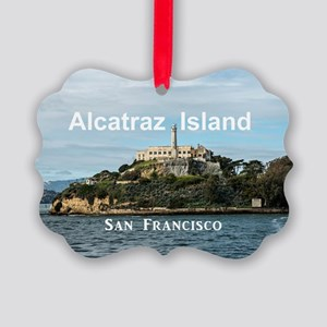 SanFrancisco_18.8x12.6_AlcatrazIs Picture Ornament