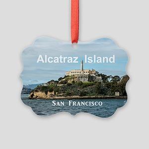 SanFrancisco_18.8x12.6_AlcatrazIs Picture Ornament