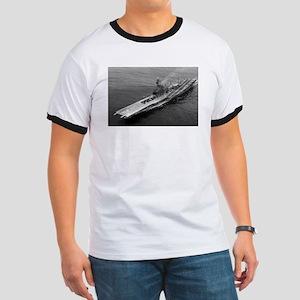 USS Ticonderoga Ship's Image Ringer T