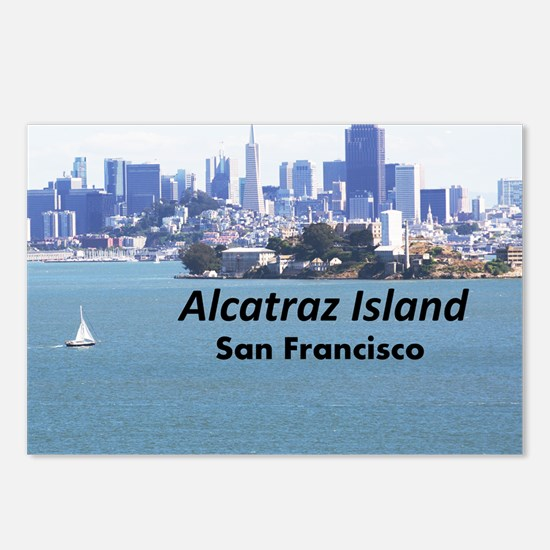 SanFrancisco_11x9_Alcatra Postcards (Package of 8)