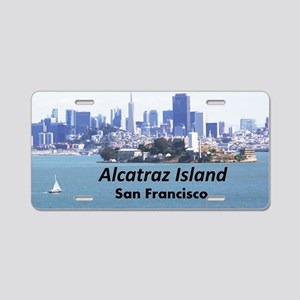 SanFrancisco_11x9_AlcatrazI Aluminum License Plate