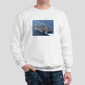SS Theodore Roosevelt Ship's Image Sweatshirt