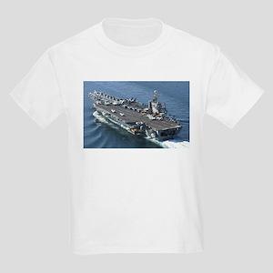 USS Theodore Roosevelt Kids Light T-Shirt