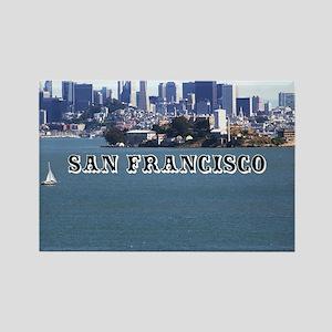 SanFrancisco_6x6_v2_AlcatrazIslan Rectangle Magnet