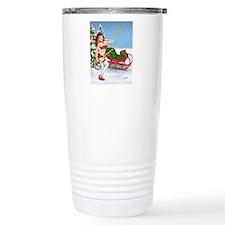 Naughty Sleigh Travel Mug