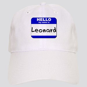 hello my name is leonard Cap