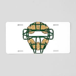32211880_GREEN Aluminum License Plate